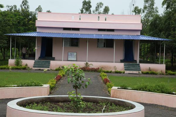 Vipassana Meditation Hall- Eastside View